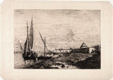 [Return of the Fishing Boats at Collioure, near the Spanish Border, Retour de la Pêche à Collioure]