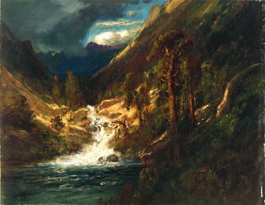 Hetch Hetchy Side Canyon, II