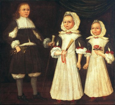 The Mason Children: David, Joanna, and Abigail