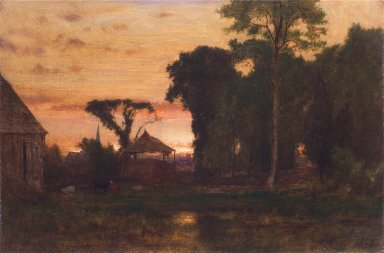 Evening at Medfield, Massachusetts
