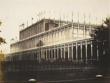View of East End of Building [Crystal Palace]