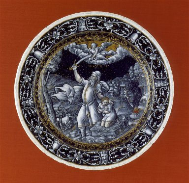 Plate: The Sacrifice of Isaac