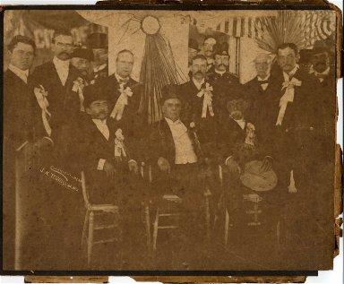 President McKinley and Louisiana Governor W. W. Heard