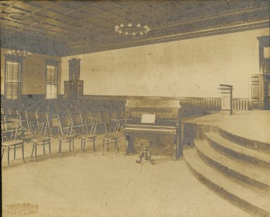 Newcomb College assembly room
