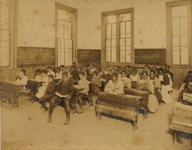 McDonogh #6 public school classroom