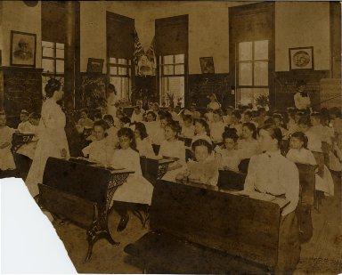 McDonogh #7 public school classroom