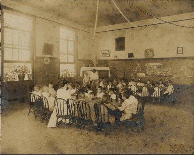 William O. Rogers public school classroom