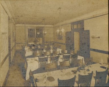 Newcomb College dining room Josephine Lonise House