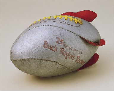 25th Century A.D. Buck Rogers Rocket Football