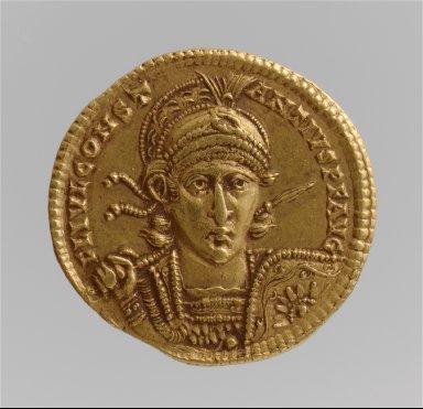Solidus of Constantius II (Sole Emperor, 353?361)