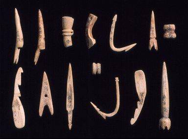 Needles, hooks, and harpoon