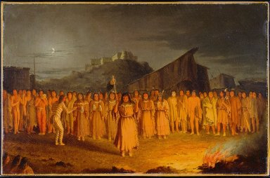 Scalp Dance by the Chualpays Indians