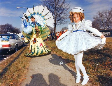 Shirley Temple, Mummers Parade, Philadelphia