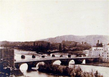 Le Pont Henri IV et le Gave a Pau