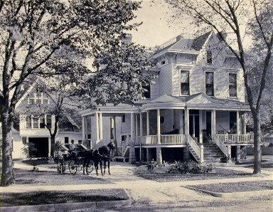 Large House and Carriage