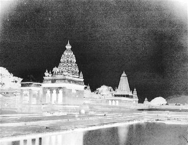 Untitled (temples and reflections)