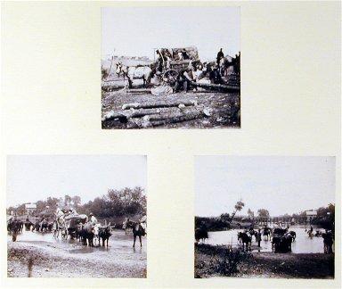 Fugitive Negro Family Fording Rappahannock River, near Farquier Court House, Vir