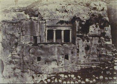 Jérusalem: Vallée de Josaphat, Tombeau de Saint Jacques [Tomb of St James, Jehos