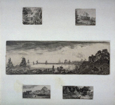Five prints from: Sixteen sheets containing 58 plates