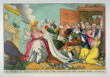 A Doleful Disaster, or Miss Fubby Fatermin's Wig Caught Fire