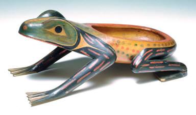 Frog dish