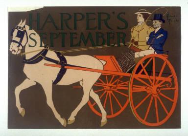 Harper's September 1897 (horse and carrage)