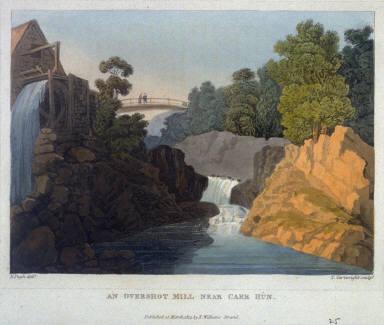 An Overshot Mill near Caer Hun
