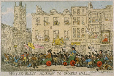 Master Billy Procession to Grocers Hall