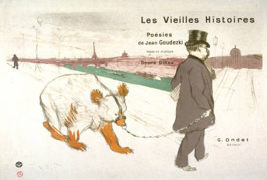 Les Vieilles Histoires (The Old Stories), frontispiece to a series of song sheets