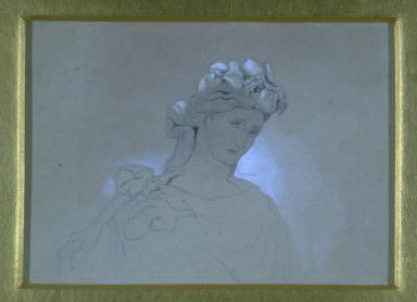 Untitled (head of goddess)