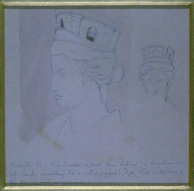 Untitled (head of female)