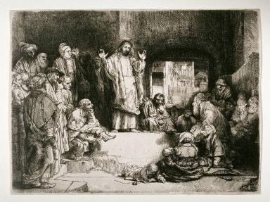 Christ Preaching (La Petite Tombe)