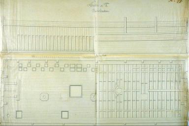 Elevation of Ponton No.2