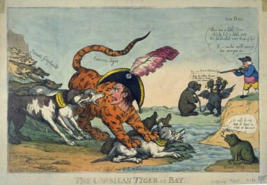 The Corsican Tiger at Bay