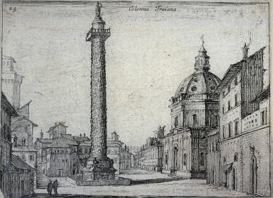 Colonna Traiana (Trajans Column), pl. 23 from the series Alcune vedute et prospettive di luoghi dishabitati di Roma (Some Views and Perspectives of the Uninhabited Places of Rome)