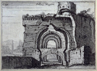 Pallazo Maggiore (Palazzo Maggiore), pl. 39 from the series Alcune vedute et prospettive di luoghi dishabitati di Roma (Some Views and Perspectives of the Uninhabited Places of Rome)