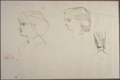 Portrait Studies of a Young Woman
