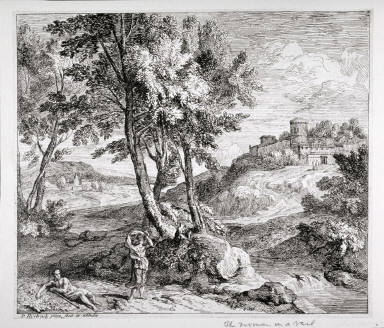 Landscape, The Woman in a Veil