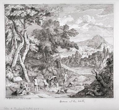 Landscape, Dianna at the Bath