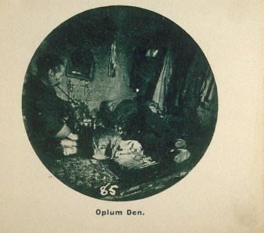 Photographic Album: Chinatown, San Francisco: Opium Den