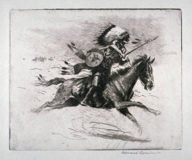 Chargin Hawk (Sioux Warrior, Dakota)