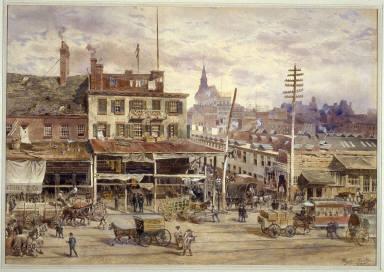Old Washington Market, New York City