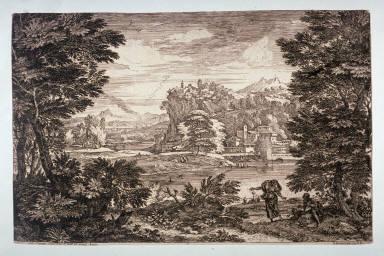A distant landscape