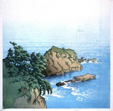 Sea Coast at Atami