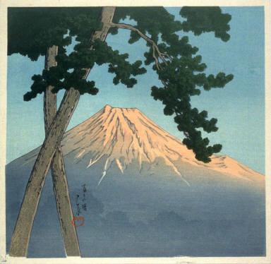 Dawn on Fuji