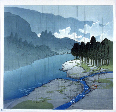 Okutama in the Rain