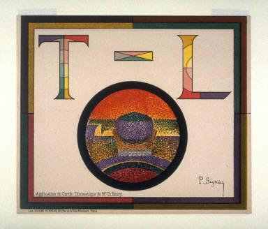 Application du Cercle chromatique de Mr. Ch. Henry