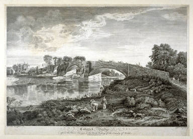 Catarick Bridge upon the River Swale (County of York)