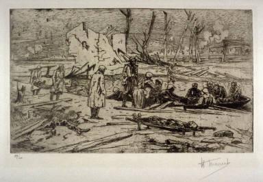 Les Blesses--Canal de la Meuse a Bras