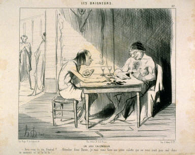 UN JOLI CALEMBOUR, no. 27 from the series LES Baigneurs